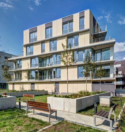 Earch.cz napsal: Na pražském Vackově vzniká nová čtvrť podle masterplanu ateliéru MS Architekti