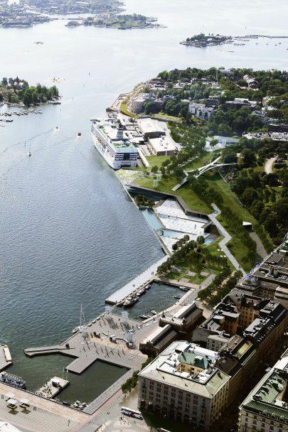 Navrhli jsme masterplan jižního přístavu v Helsinkách