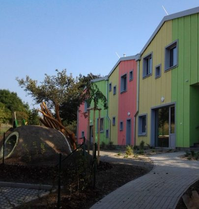 A new article at Stavbaweb.cz on implementation of our nursery school design in Prague