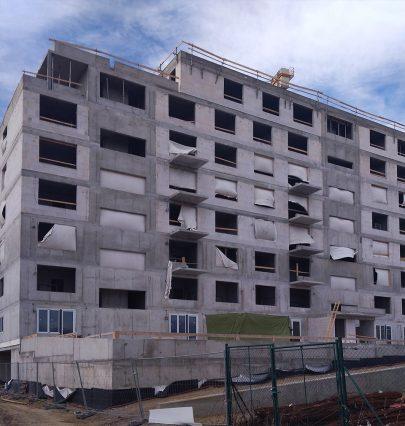 Fotoreport: výstavba bytového domu Zelená Libuš