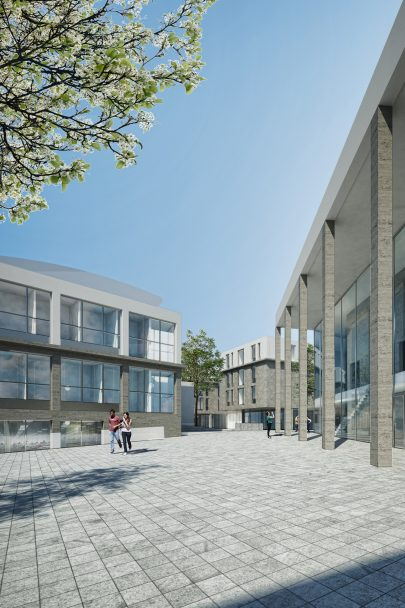 We have designed university campus for the Academy of Fine Arts in Bratislava.
