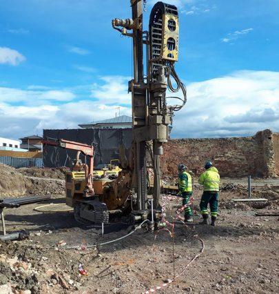 Fotoreport: výstavba první etapy našeho projektu Jinonického dvora byla zahájena