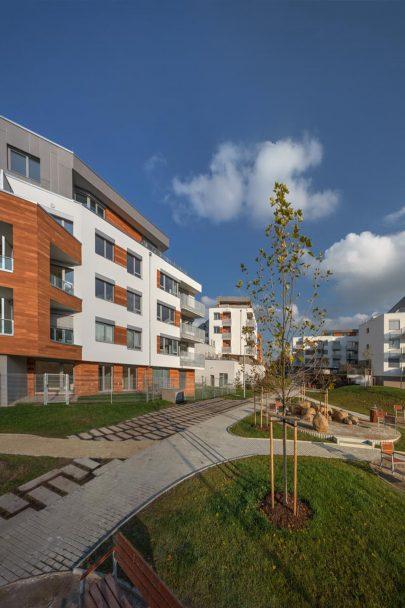 Rezidenční park Hloubětín je součástí projektu Stavba čtvrtstoletí