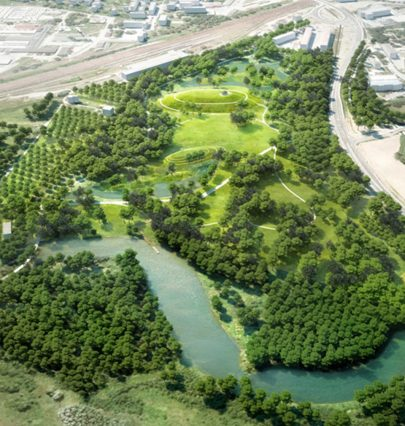 The Forest Park in Bohumín will be the second green lungs of the city as Novinky.cz wrote about our building plan