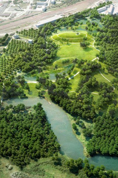 Obyvatelé i návštěvníci Bohumína se mohou těšit na nový lesopark podle našeho návrhu. Hotový bude koncem roku 2020