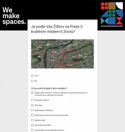 Je Žižkov na Praze 3 kvalitním místem k životu? Zapojte se i vy do našeho průzkumu veřejného mínění