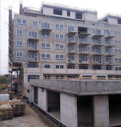 Bytový dům Zelená Libuš podle našeho návrhu stále roste