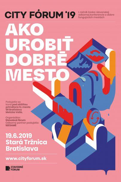 MS architekti jsou parnerem I. ročníku česko-slovenské konference s názvem: Ako urobiť dobré mesto