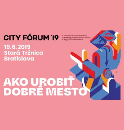Read the article of the editor in chief of the Stavební fórum on topics discussed on the first year of the successful City FORUM Bratislava