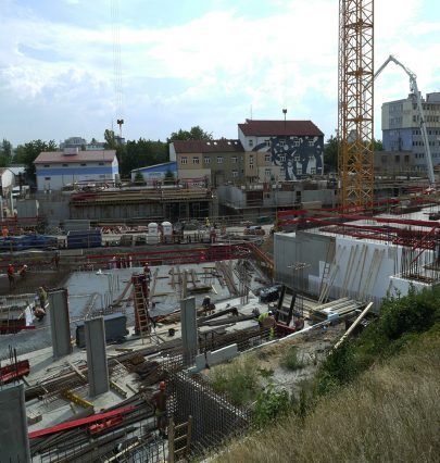 A unique district in context of Prague is under construction in Vackov