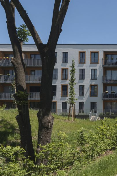 Zåhrada, the unique residential complex in Lysá nad Labem is under construction according to our master plan