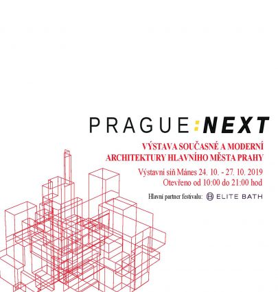 Several projects implemented according to our designs will be a part of the exhibition called PRAGUE: NEXT in Mánes, Prague