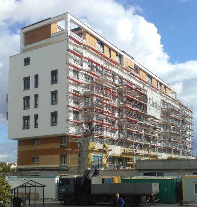 Výstavba bytového domu Zelená Libuš pokračuje podle plánu
