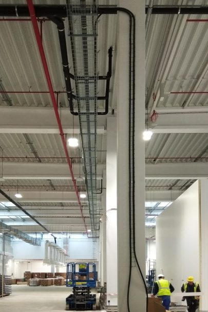 Fotoreport z výstavby kladenského high-tech výrobního a distribučního areálu společnosti La Lorraine