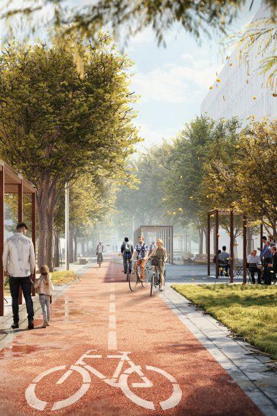 Zveme vás na vernisáž projektu Smíchov City, kde se můžete seznámit i s veřejným prostorem dvou městských parků a centrálního bulváru nové čtvrti podle našeho návrhu a projektu