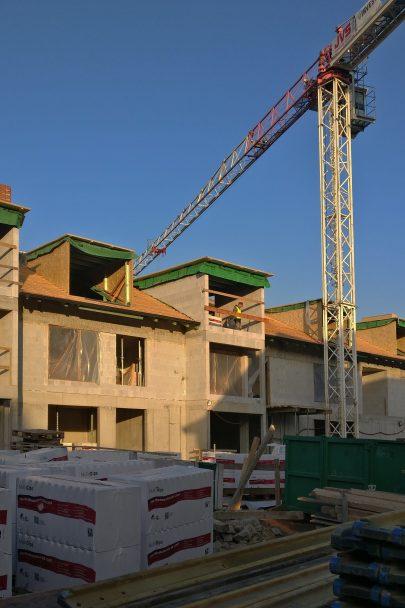 Výstavba dvaceti velkorysých bytů podle našeho návrhu a projektu na Jinonickém dvoře probíhá podle plánu