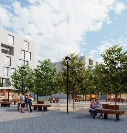 Navrhli jsme nový rezidenční komplex Na Balkáně