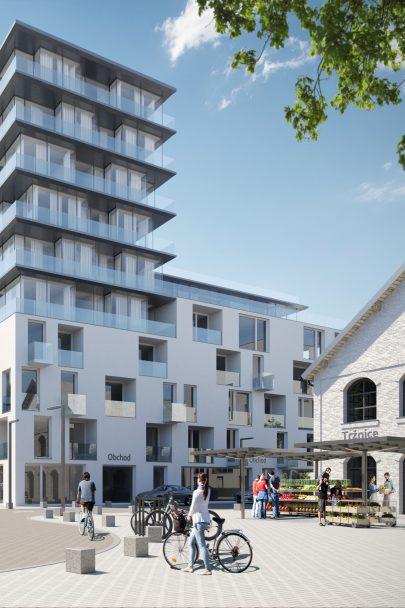 Navrhli jsme masterplan nové pražské čtvrti Na Košince