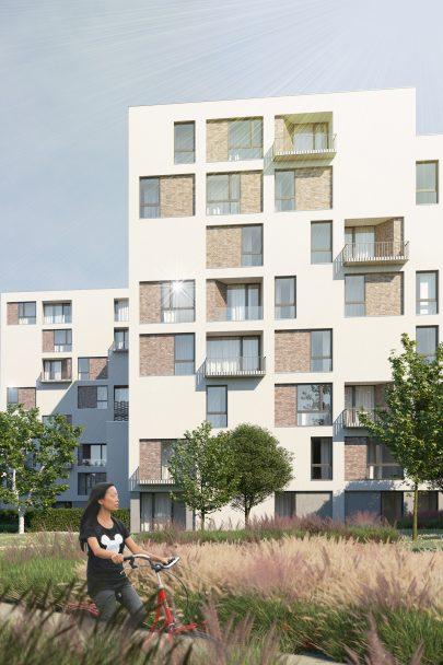 Park Rokytka je náš návrh nové rezidenční lokality v Praze