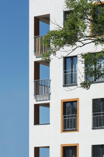 Novostavba Šporkova domu je nedílnou součástí rezidenčního komplexu Zåhrada podle našeho masterplanu