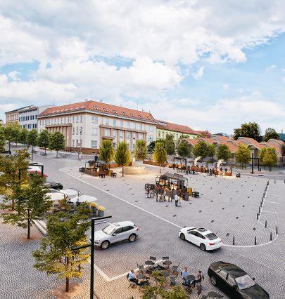 Portál Stavbaweb.cz píše o našem soutěžním návrhu revitalizace tišnovského náměstí Míru