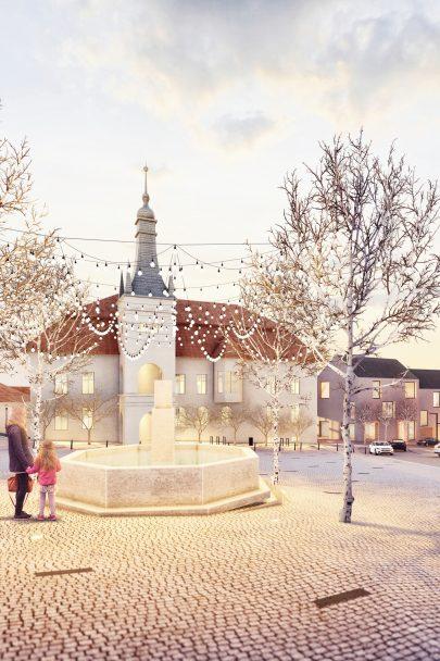 You are kindly invited to the opening of the exhibition in Tišnov of designs entered in the architectural and urban planning competition of Revitalization of the Local Peace Square (náměstí Míru)
