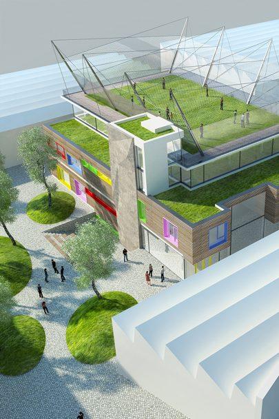 Město Ústí nad Orlicí zahájilo výstavbu Domu dětí a mládeže podle našeho návrhu