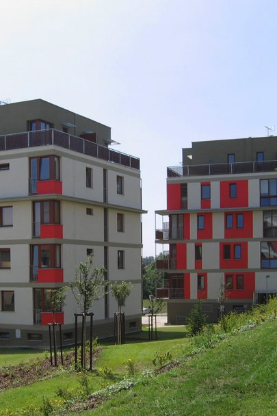 It has been almost 20 years since the residential complex Palouček design by our studio was built in Beroun