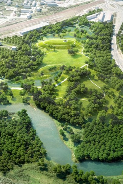 Design for a new forest park aims to regenerate border town