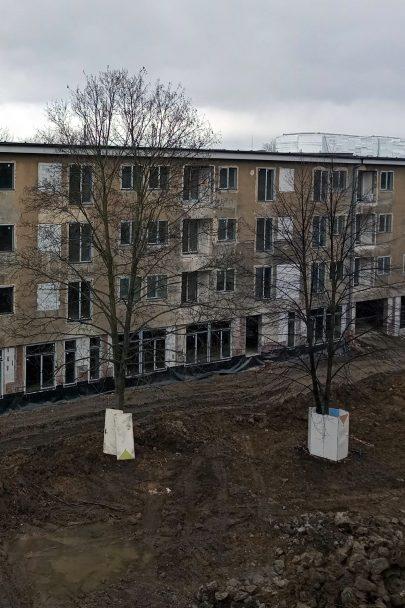 Přestavba dvou školních budov na rezidenční park Hrabůvka pokračuje podle plánu