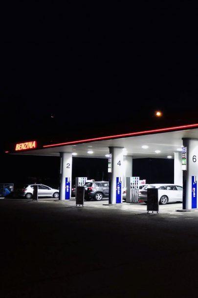 Náš tým projektantů vedený Janem Davidem modernizuje čerpací stanice Benzina napříč celou Českou republikou