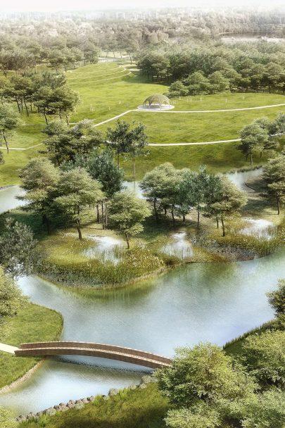 Město Bohumín má nový lesopark podle našeho návrhu