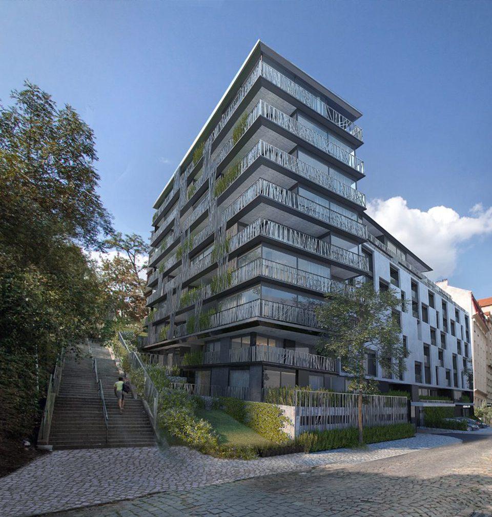 Navrhli jsme bytový dům Nová Landhauska