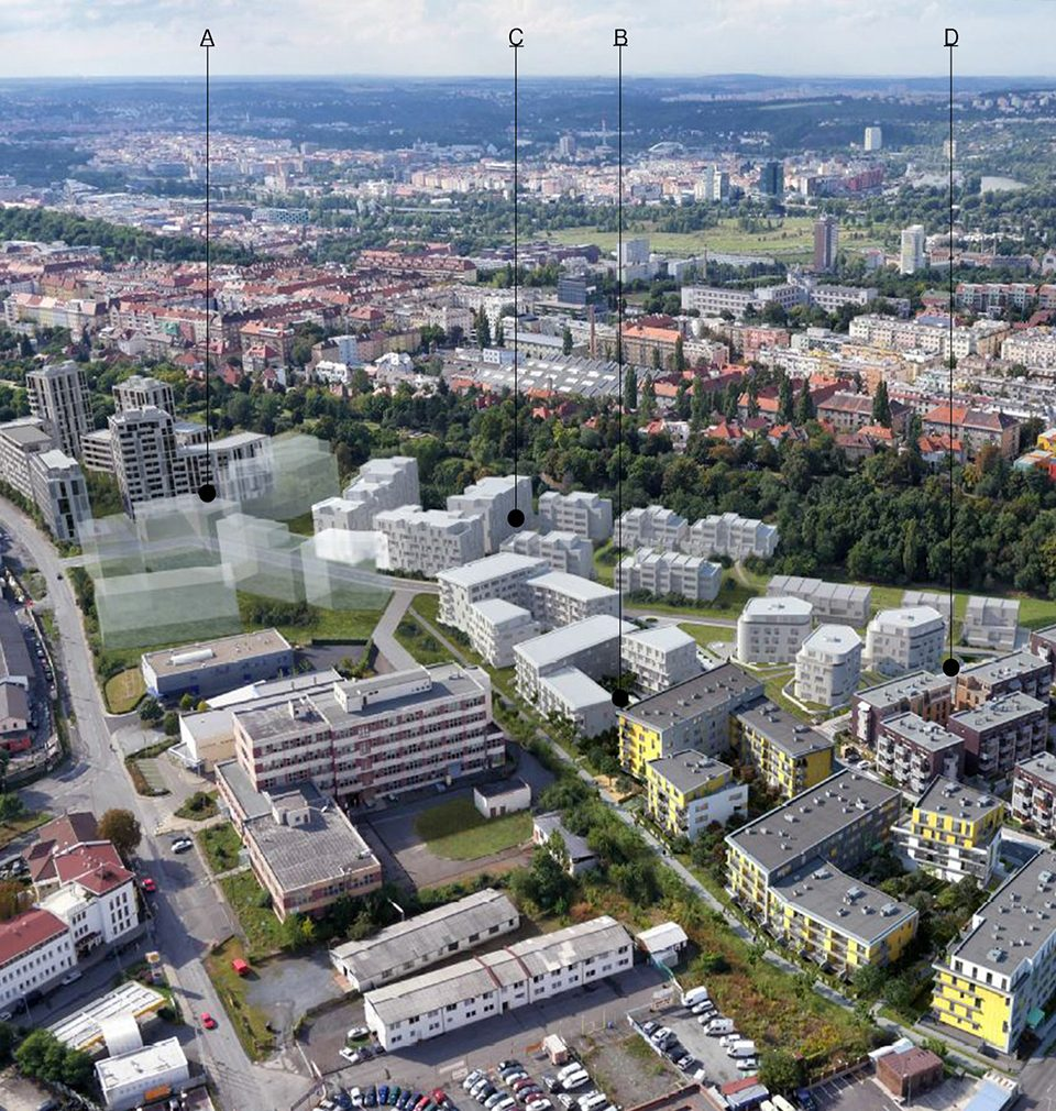 Earch.cz posted the following: A new city district has been built in Vackov, Prague based on the masterplan by MS architekti