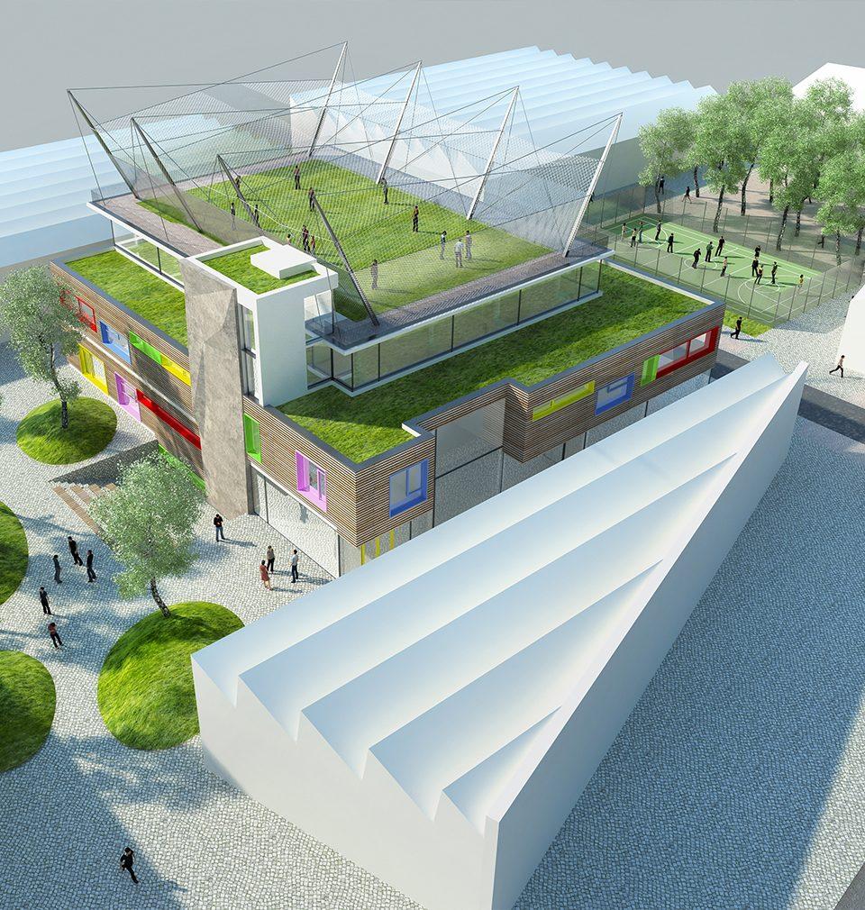 Earch.cz napsal: Atelier MS plan přemění průmyslový brownfield v Ústí nad Orlicí
