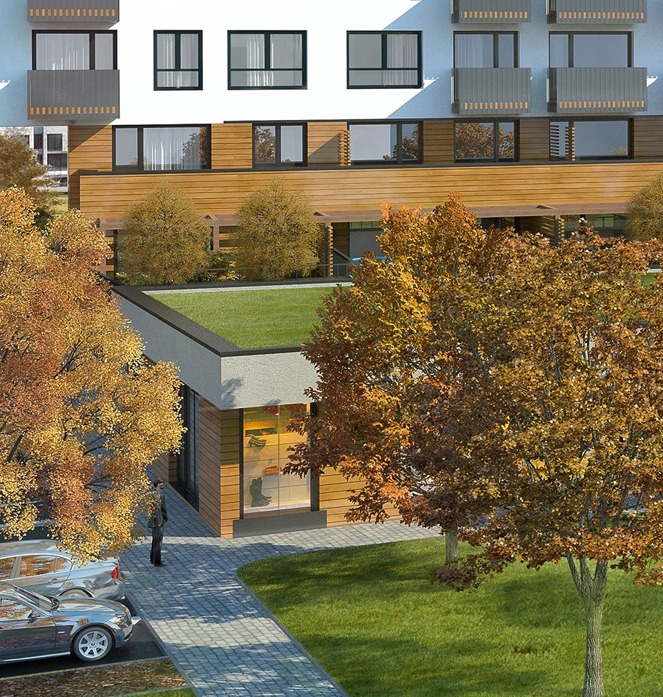 We have designed Zelená Libuš Apartment Building