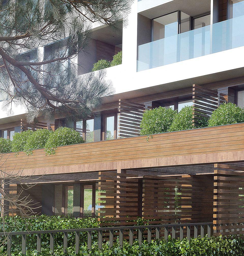 Navrhli jsme bytový dům Zelená Libuš