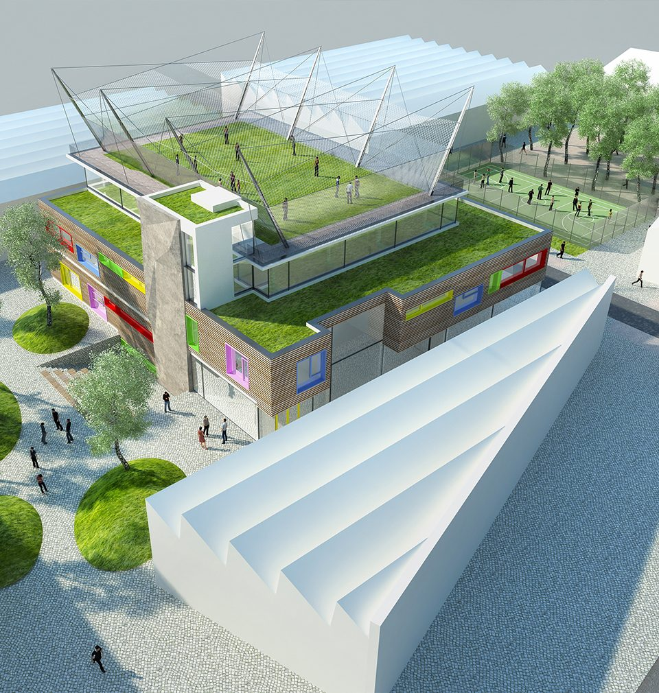 We have started with design documentation for the youth centre in Ústí nad Orlicí