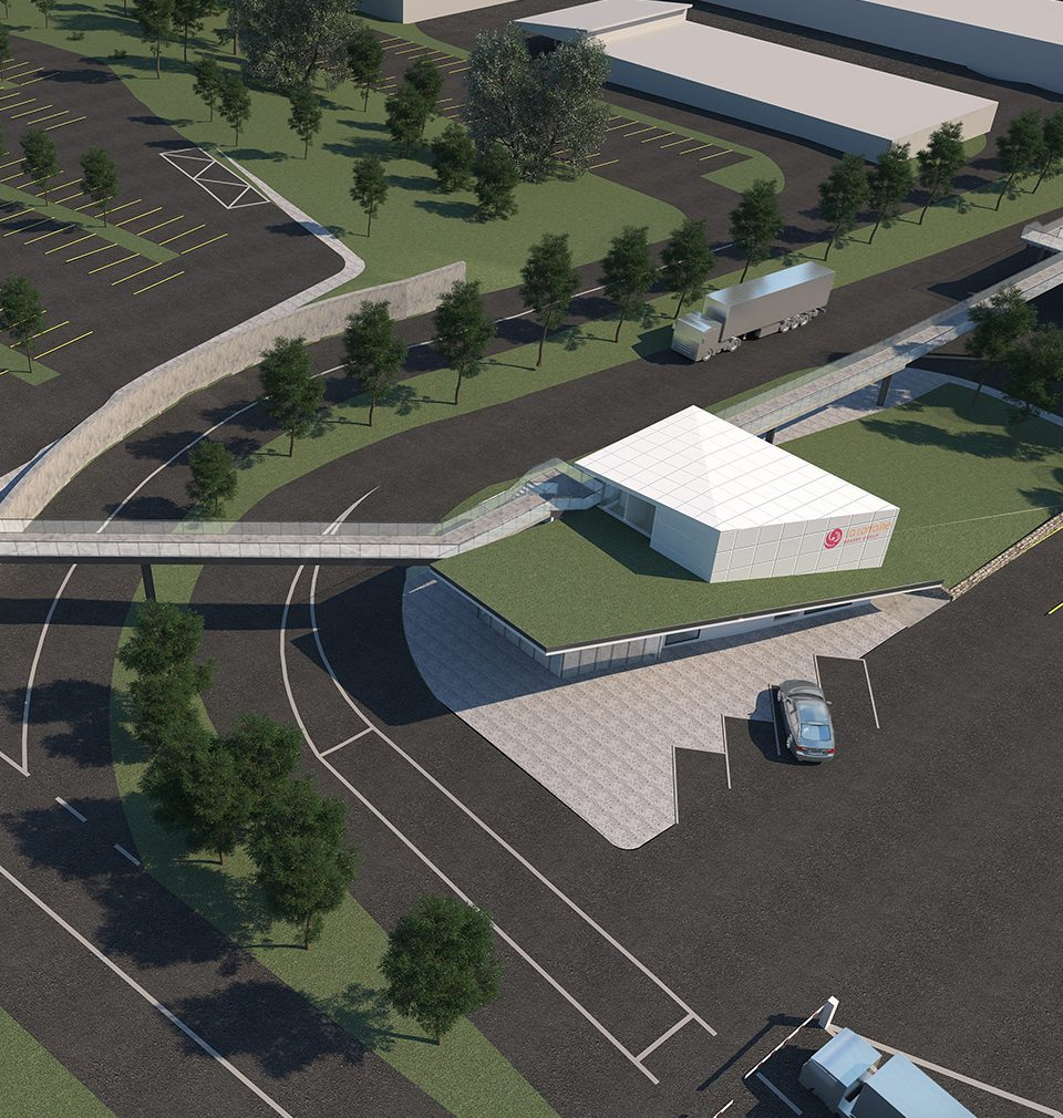 We have designed the extension of La Lorraine plant