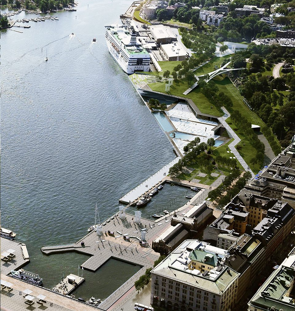 We have designed the masterplan of the South Port in Helsinki