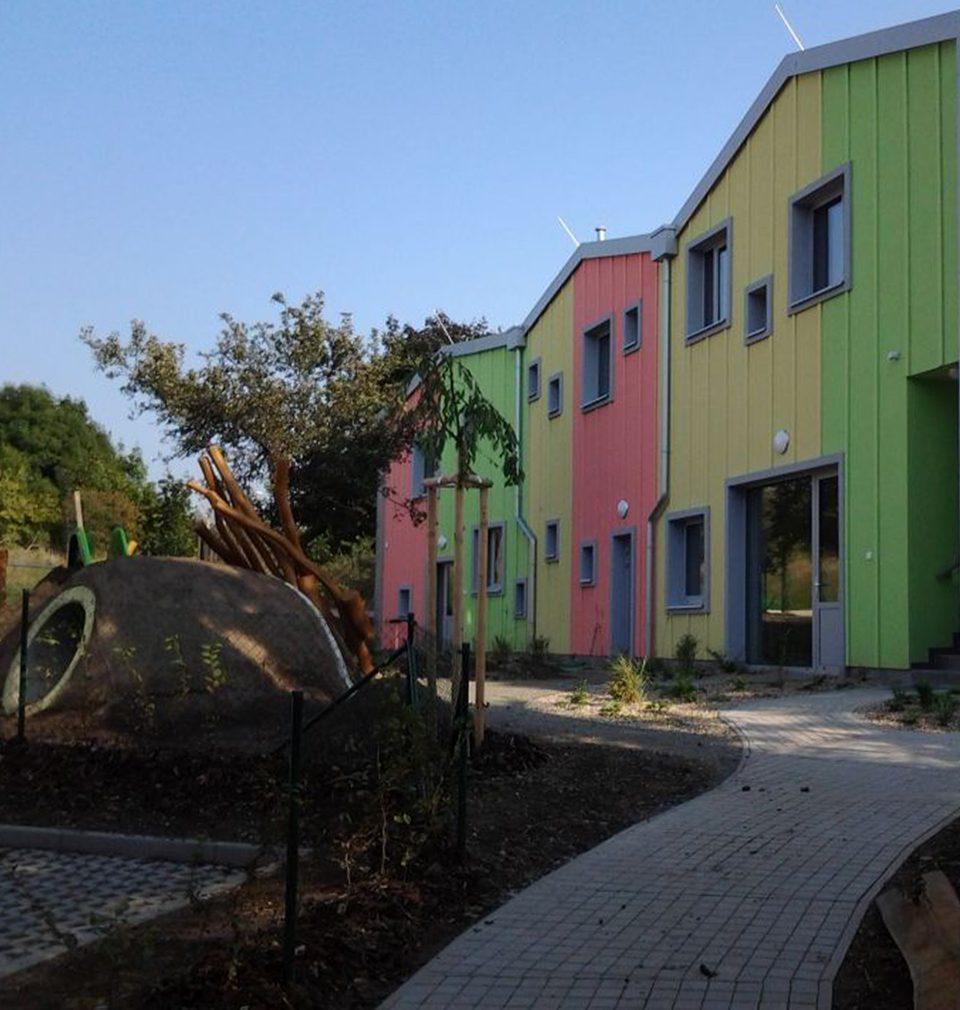 Mateřská školka v Olešské ulici v Praze