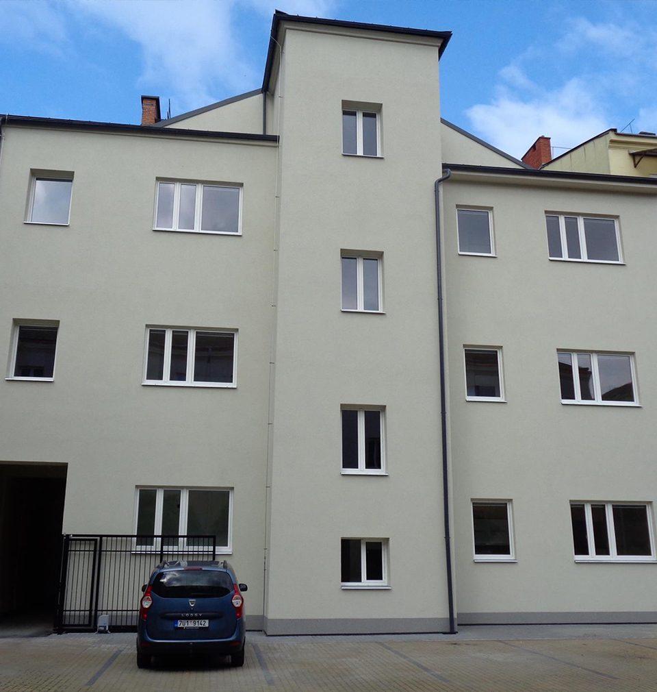 Reconstruction of the apartment building in Přívozská Street, Ostrava