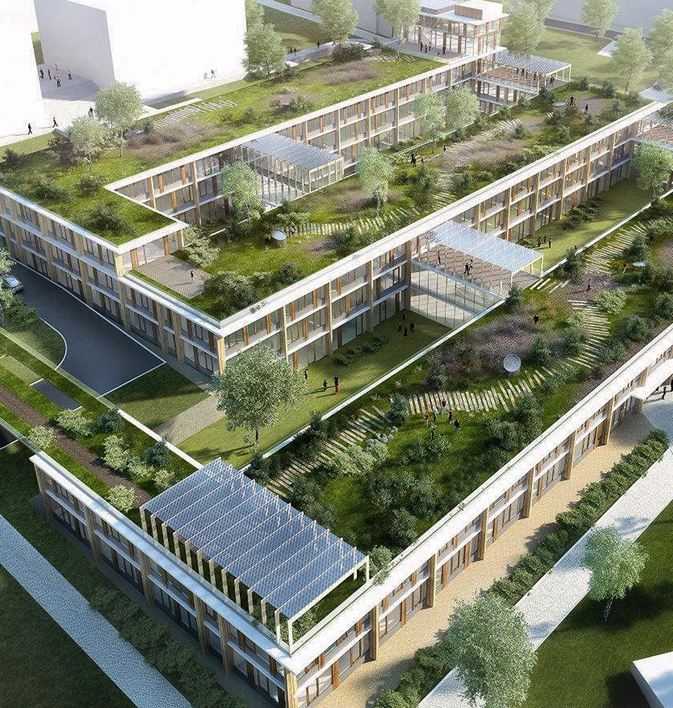 Earch.cz posted the following: Construction of the new centre of scientific and technical fields of the University in Ústí nad Labem is in progress on the hillside above the city