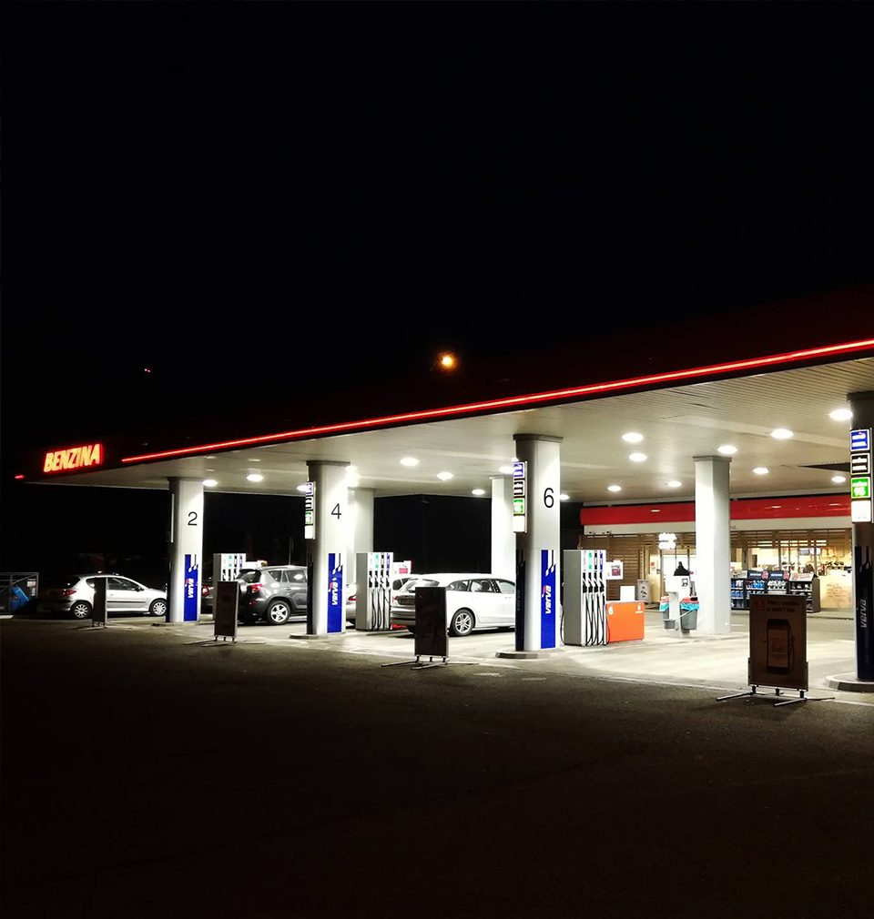 In 2018, more than 60 Benzina filling stations underwent a facelift.