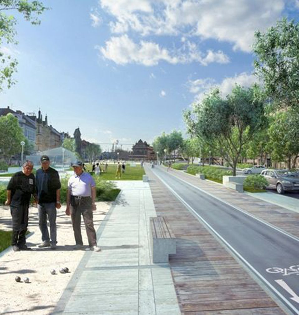 We were awarded the special prize of the jury in the competition on the urban design of Plzeň city centre