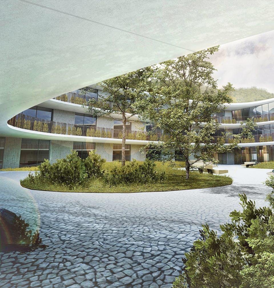 Navrhli jsme seniorské centrum Nová Šatovka