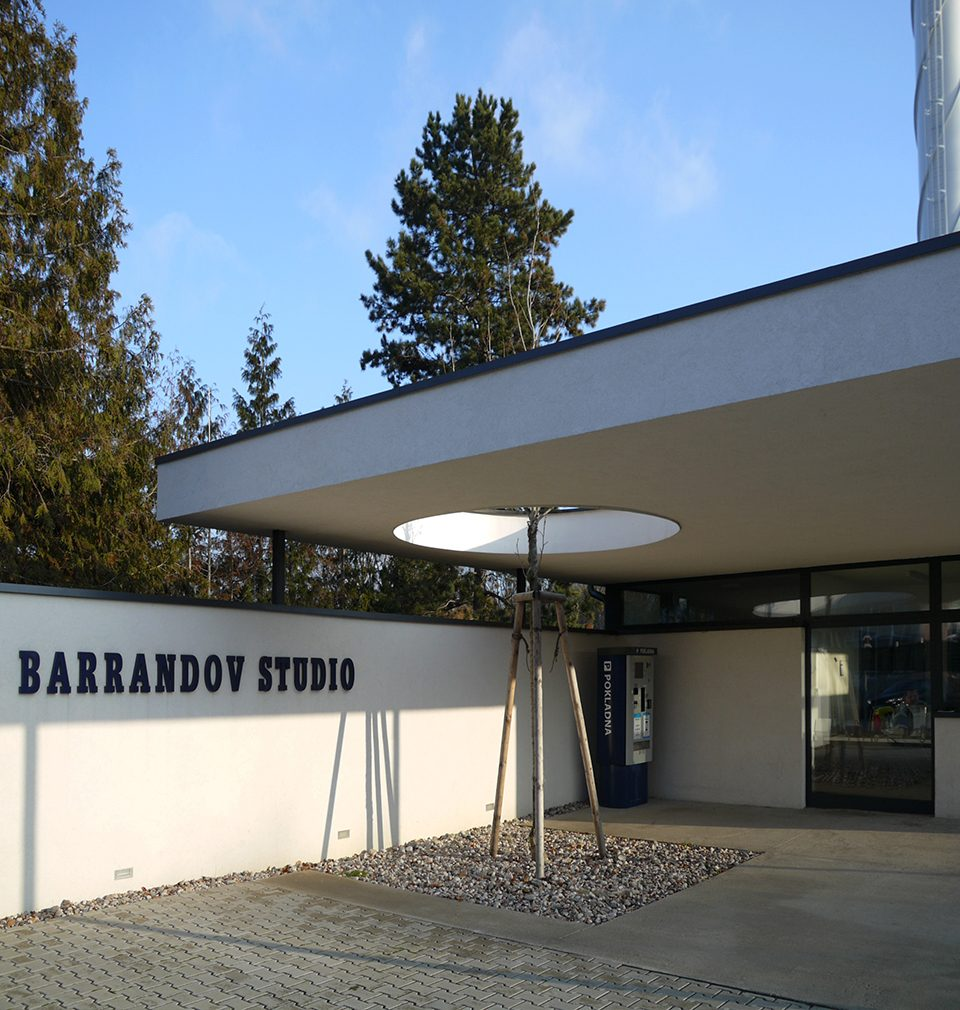 We have designed and built the main gate, production area and costume premises for the Barrandov film studios in Prague.