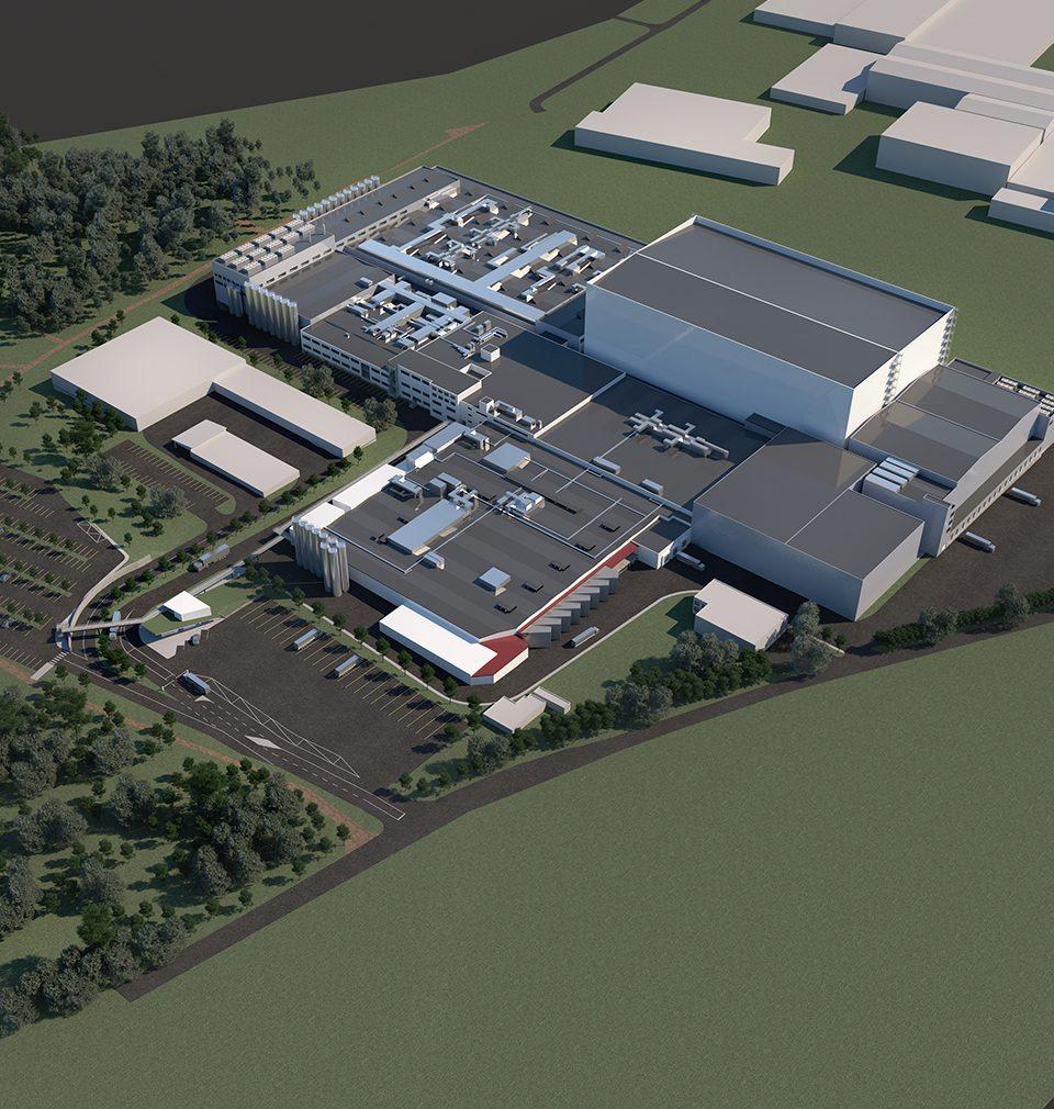 Rozšíření výrobního a distribučního závodu společnosti La Lorraine bylo zahájeno