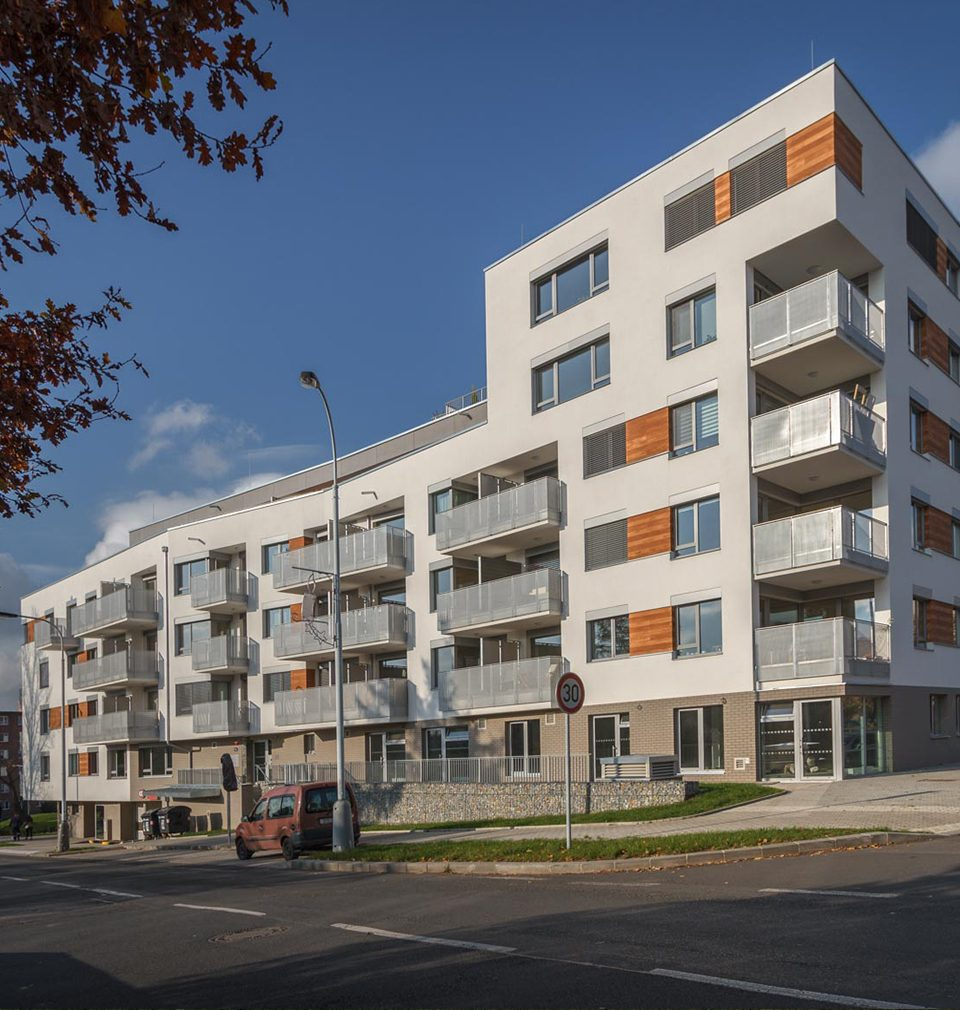 Hloubětín Residential Park is a part of the Building of the Quarter-Century project