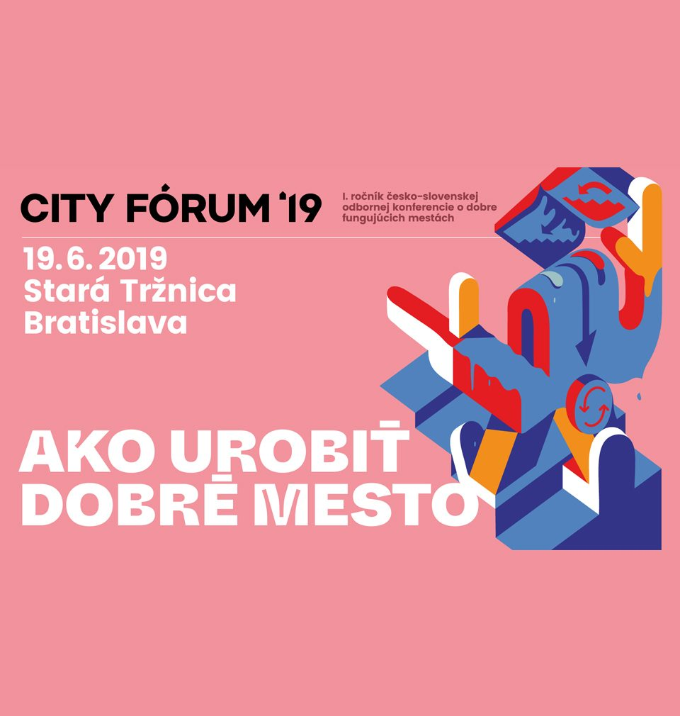 MS architekti is a partner of the 1st year of the Czech and Slovak Conference called: How to make a good city
